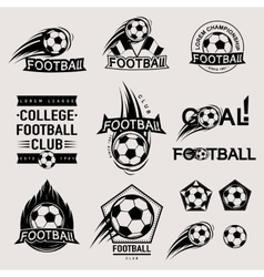 Set of vintage modern and retro logo badges vector
