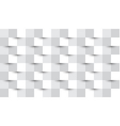 simple white geometric abstract background vector image