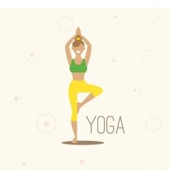 yoga Surya Namaskara Yoga vector image
