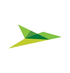 Bird sign vector image
