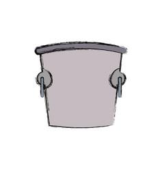 ice bucket icon vector image