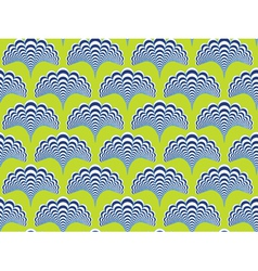 Abstract pattern with a plant-like figure vector image