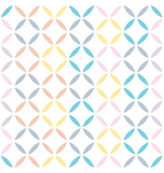 Abstract seamless squares pattern vector