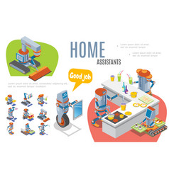 artificial intelligence infographic concept vector image
