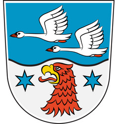 Coat of arms of havelland in brandenburg germany vector