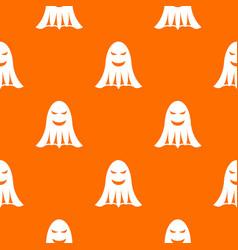 ghost pattern seamless vector image