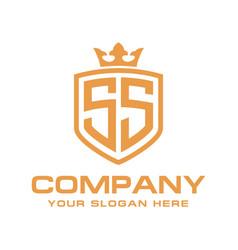 Letter ss initial logo luxury logo design vector