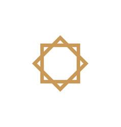 moslem icon design vector image