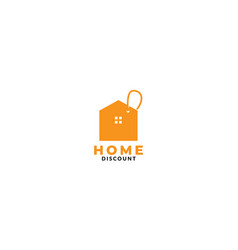 Real estate or home or house marketing discount vector