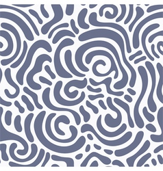 Swirly seamless pattern vector