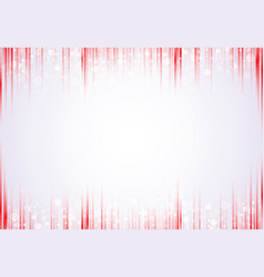 template header and footers red vertical lines vector image