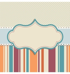 background for greeting card vector image