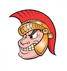 trojan vector image vector image