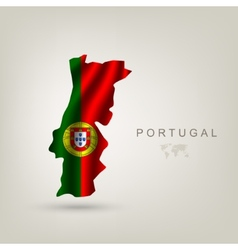 Flag of Portugal as a country vector