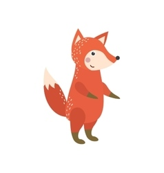 fox character vector image
