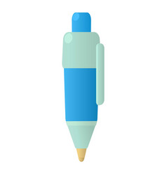 Pen icon cartoon style vector