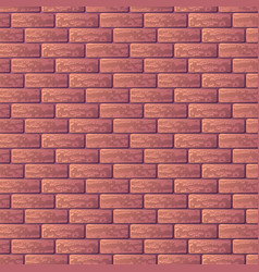 Purple brick wall vector