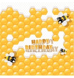 So sweet Birthday vector image