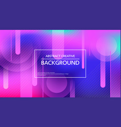 Stylish abstract background with bright colors vector