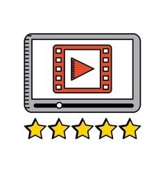 movie and cinema design vector image