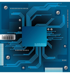 abstract electronic vector image
