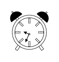 Alarm clock icon image vector