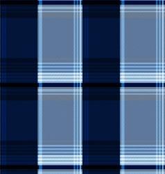 Blue scotch textile background vector