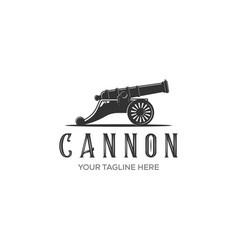Cannon icon isolated on white background for your vector