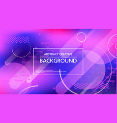 contemporary purple graphic background vector image