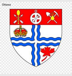 Emblem of ottawa vector