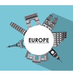 europe design vector image