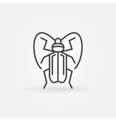 Insect icon or logo vector