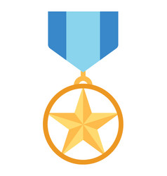Military medal vector