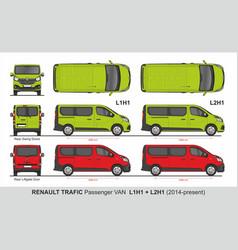 Renault tragic passenger l1h1 l2h1 2014-present vector