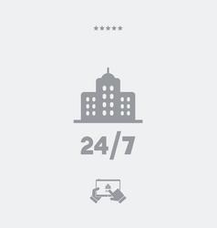 Residence 247 - web icon vector