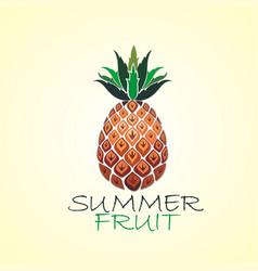 Summer fruit vector