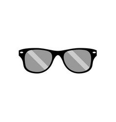 sunglasses icon design template vector image
