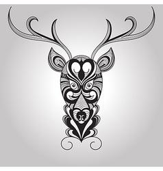 Deer Tattoo Style vector image vector image