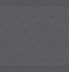 Elegant curve geometry seamless pattern vector