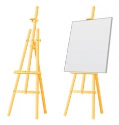 easel board vector image