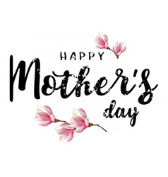 happy mothers day heart vector image vector image