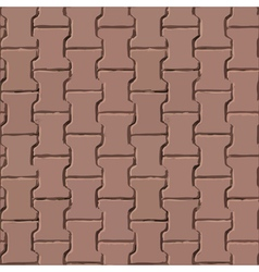 Pavement slabs texture vector image vector image