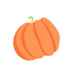 Pumpkin icon cartoon style vector image