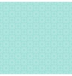 pattern mint geometric vector image vector image
