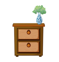 Side table vector image