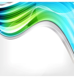 Abstract background with waves and lines vector