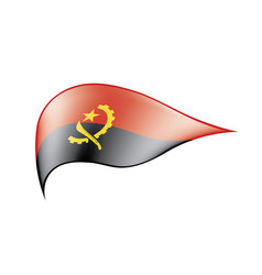 Angola flag vector