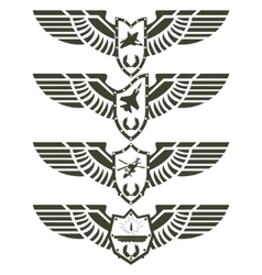 Army badges-2 vector