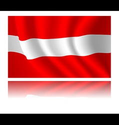 Flag of country vector