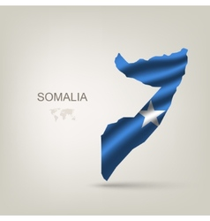 Flag of Somalia as a country vector